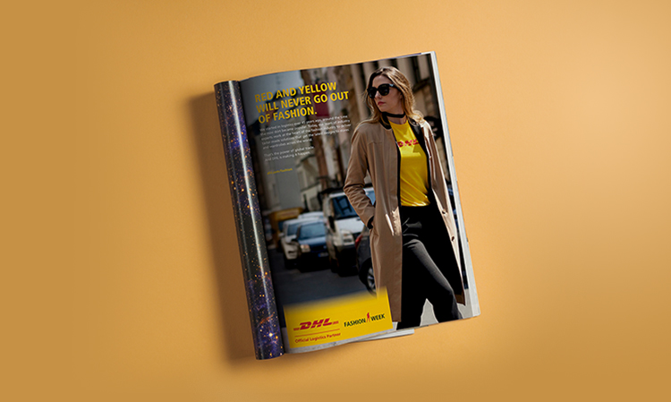 DHL Vetements Magazin