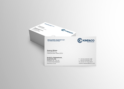 Kind und Co business cards